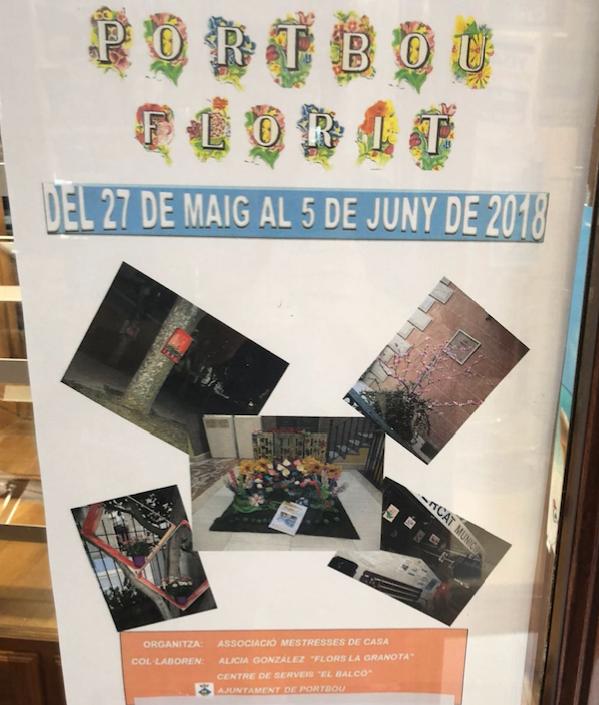 Portbou florit 2018